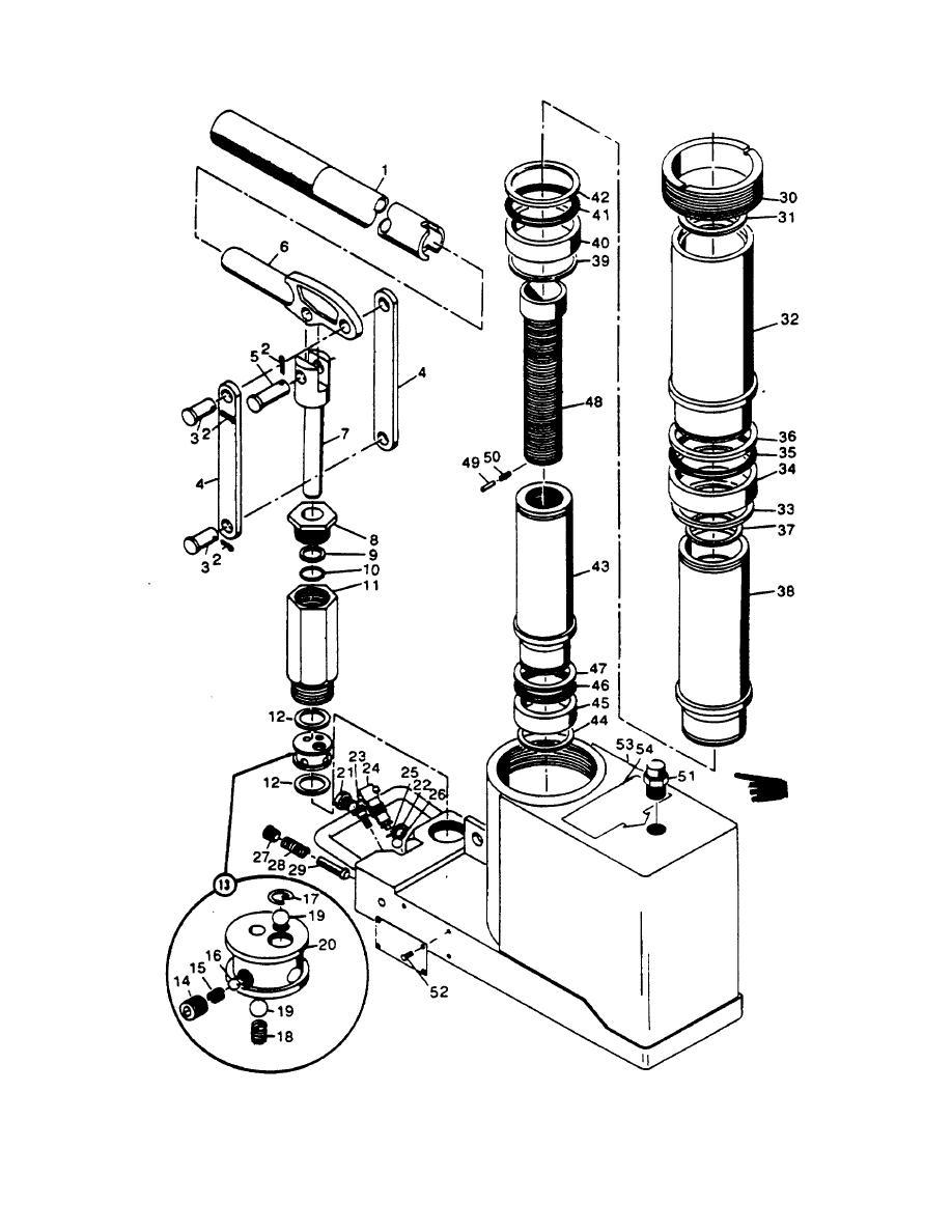 Hydraulic bottle jack diagram screw jack diagram elsavadorla for Floor jack parts