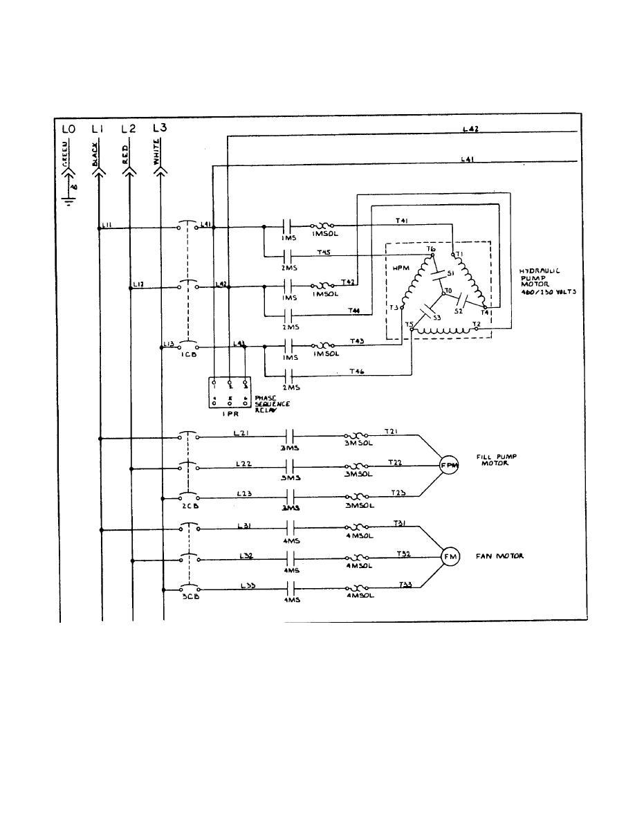 figure 1 3 electrical schematic diagram sheet 1 of 2 rh hydraulicspneumatics tpub com Schematic Diagram Physics HVAC Diagrams Schematics
