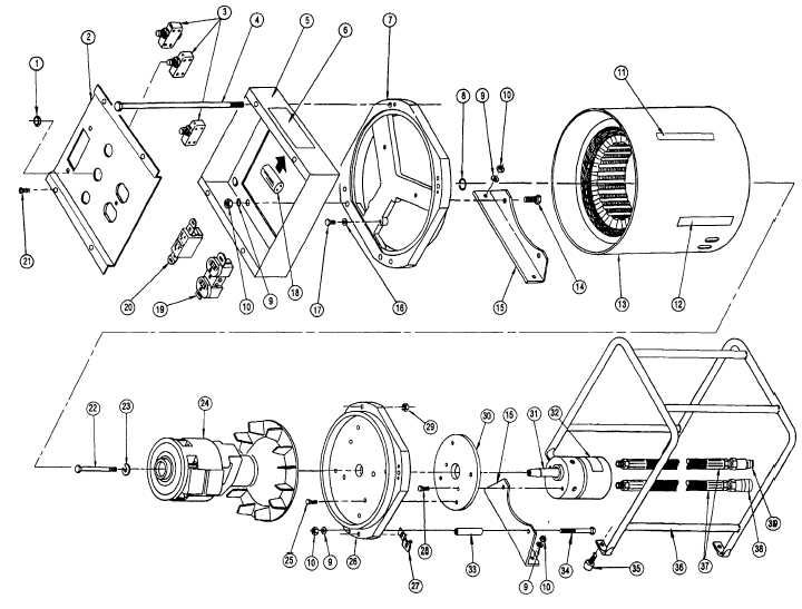 figure 2  hydraulic motor generator assembly